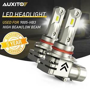 AUXITO 9005 HB3 LED headlight lamp bulbs super bright 6000k white kit plug play