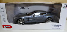 Mondo Motors 1/18 scale Aston Martin One-77 New Boxed Silver Grey.