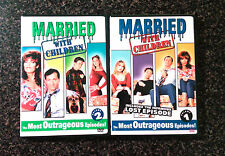 Married With Children 2 DVD Set Most Outrageous Episodes Comedy Al Peggy Bundy