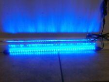 Aquarium LED BLUE Light 40 LEDs 18 inch Tube 5VDC with 120VAC Power Supply