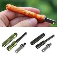 Smart Key Holder Keyring Organiser Aluminium Pocket Keychain EDC Pocket J6W3