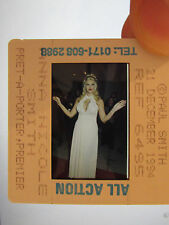 Original Press Promo Slide Negative - Anna Nicole Smith - Model - Glamour-1994-B