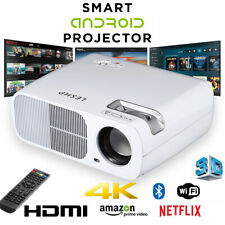 Home Office Projector WiFi Android 3D HD 1080P LED Video Theater Multimedia TH