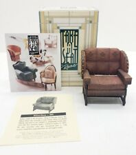Willitts Designs Take a Seat Miniature Billiard Room Chair Dollhouse Furniture