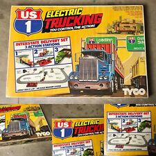 NIB Vintage TYCO US1 Big Rig Electric Trucking Interstate Delivery Set NEW NOS