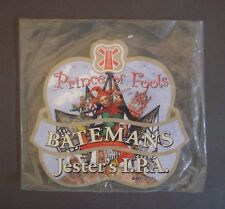 Batemans Prince of Fools Jester's IPA Plastic Beer Pump Clip Front Pub Home Bar