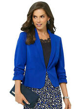 Fair Lady @ Kaleidoscope Size 18 Royal Blue One Button JACKET Smart £72