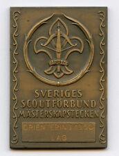Sweden Swedish Medal Scout Association Championship 1950 Nice Grade !!!