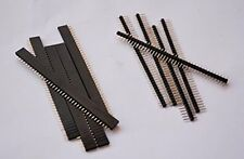 10 PCS 40 Pin Break-Away Headers - Male Female COMBO Berg Strip-2.54MM SKU#807