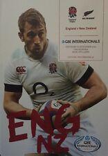 England V New Zealand Programme 2013 Brand New QBE Internationals