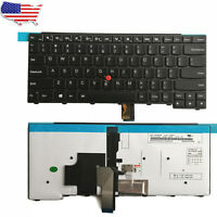 New Backlit Keyboard for Lenovo ThinkPad E431 T431s T440 T440p T440s T460 USA
