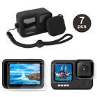Внешний вид - Accessories Kit for GoPro Hero 9 Black Silicone Protective Case+Screen Lens Film