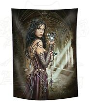 Alchemy Name of the Rose Lightweight Tapestry Flag Wiccan Pagan Altar 435