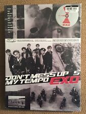 DON'T MESS UP MY TEMPO by EXO The 5th Album CD/ Photo Book/ Poster/ Photo Card