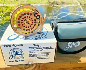 Rare Limited Edition LHW Abel Clear Creek #2 Trout Fly Reel with Case & Box