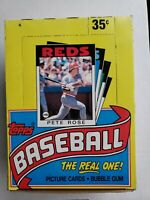 1986 TOPPS BASEBALL WAX BOX (35 WAX SEALED PACKS) UNOPENED VINTAGE CARDS