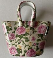 A Special Place 2003 Floral Ceramic Purse