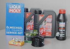 Sistema de mantenimiento GILERA NEXUS 500 Filtro aceite bujía Inspección