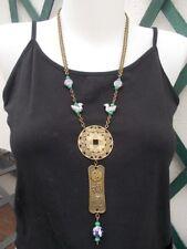 Collier zodiaque chinois, perles porcelaine, symbole yin yang bijoux chinois zen