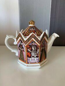 "Collector's Registered Design James Sadler ""King Henry 8th & His 6 Wives"" Teapot"