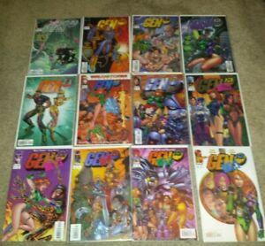 Gen13 19-25 & Bootleg series 1-8 & 1a 1b & Spiderman / Gen13 1