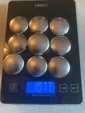 1077 Gramm Zinn ideal f. Blinker Angel Gewichte gießen Gießmetall Zinnbarren 95%