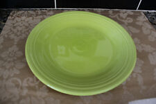 """Fiestaware 10.5"""" Round Dinner Plate Shamrock Or Lime Green New! 1St Quality"""