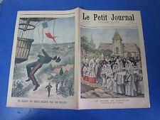 Le petit journal 1901 547 Soldat du Génie enlevé par un ballon
