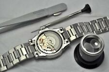 Seiko Kinetic Watch Capacitor and/or Crystal Replacement Upgrade Repair Service