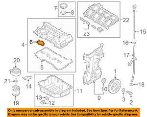 HYUNDAI OEM 13-16 Santa Fe Engine-Valve Cover Seal 224422G670