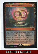 Rings of Brighthearth Magic Trading Card GENERIC Custom Alternate Extended Art