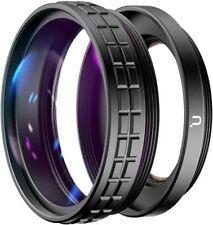 Ulanzi WL-1 ZV1 10X Macro Lens 18MM Wide Angle Len for Sony ZV1 Adjustable Lens