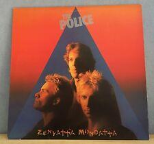 THE POLICE Zenyatta Mondatta 1980 UK vinyl  LP + INNER EXCELLENT CONDITION    D