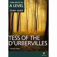 """""""VERY GOOD"""" Tess of the D'Urbervilles: York Notes for A-level, Palmer, Dr Beth,"""