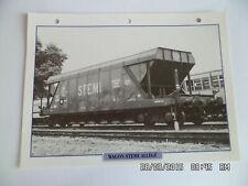 CARTE FICHE TRAIN WAGON STEMI ALLEGE