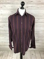 YSL Yves Saint Laurent Shirt - 15.5 - Striped - Great Condition - Men's
