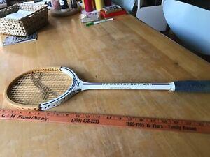 Vintage rare mint Slazenger powerthrust Jr. Squash Racquet