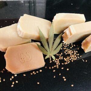 ORGANIC Patchouli And HEMP Soap SHEA BUTTER Vegan 🌱 80-100g Approx. SLS FREE