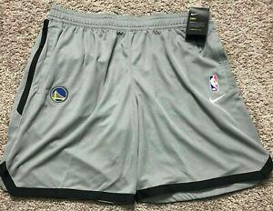Womens Nike NBA Golden State Warriors Team Issue Basketball Shorts Sz L-Tall