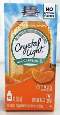 Crystal Light with Caffeine On The Go Citrus Drink Mix 0.9 oz