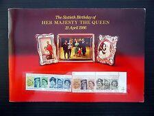 GB Royal Mail Royalty Souvenir Presentation Packs (5) Very High Cat NB289