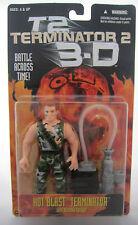 HOT Blast TERMINATOR 2 3D T2 Action Figure Arnold Schwarzenegger MOC KENNER 1997