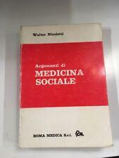 Argomenti di medicina Sociale