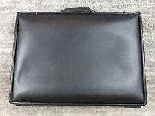 Hartmann Black Attache Briefcase