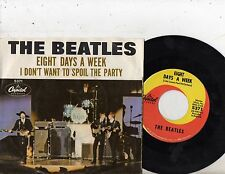 BEATLES 7'' PS Eight Days A Week USA Capitol 5371 RARE American UNIQUE COVER 45