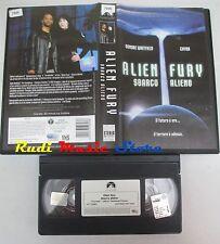 film VHS ALIEN FURY SBARCO ALIENO Dale Midkiff Chyna 2001   (F26) no dvd
