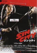 Sin City - Original Japanese Chirashi Mini Poster - Devon Aoki as Miho