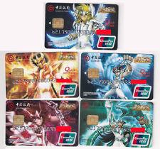CA142 Bank of China Debit cards Saint seiya 5pcs
