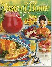 Taste of Home April May 2001 Shortbread Specialties/Frugal Chicken Dinner/Ham