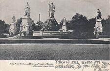 PHILADELPHIA PA Catholic Centennial Fountain Fairmount Park 1907